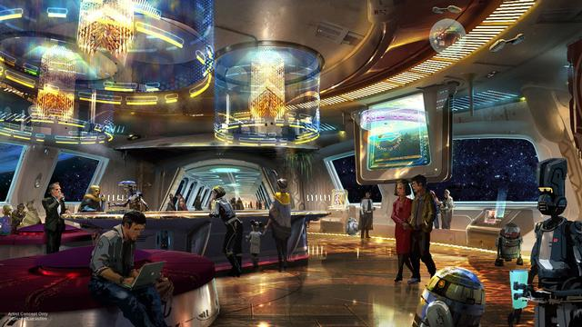 Inside the Star Wars hotel
