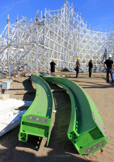 Twisted Colossus track