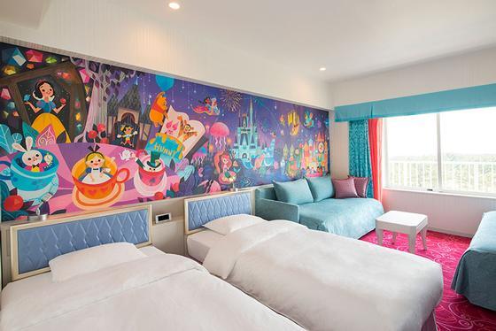 Tokyo Disney Celebration Hotel room