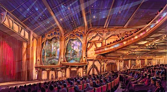 Photo of Fantasyland Forest Theatre