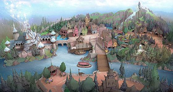 Arendelle in Tokyo DisneySea