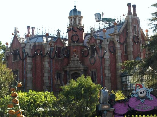 Haunted Mansion at Tokyo Disneyland