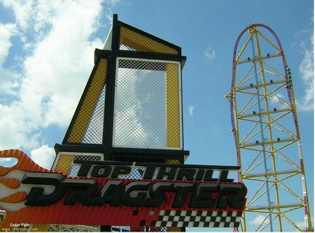 Top Thrill Dragster photo, from ThemeParkInsider.com
