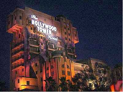 Twilight Zone Tower of Terror photo, from ThemeParkInsider.com