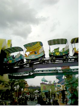 High In The Sky Seuss Trolley Train Ride photo, from ThemeParkInsider.com