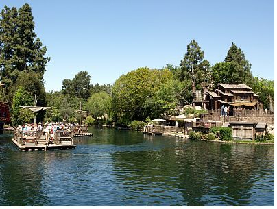 Pirates Lair on Tom Sawyer Island