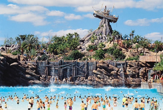 Why Build a Water Park at a Theme Park Resort?