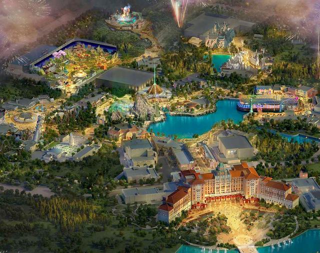 Universal Studios Beijing 2019 concept art