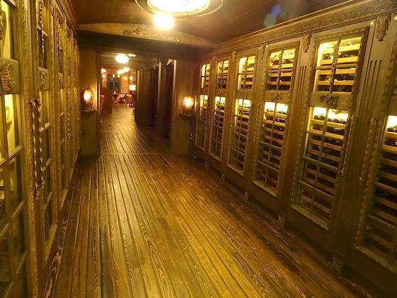 Wine walkway