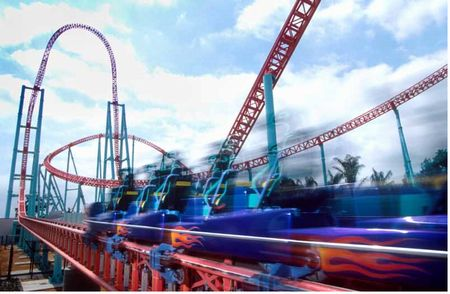 Xcelerator photo, from ThemeParkInsider.com